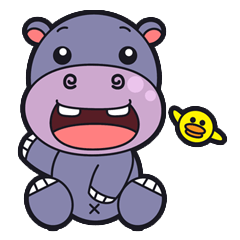 Jumbo - the big & cute hippo -